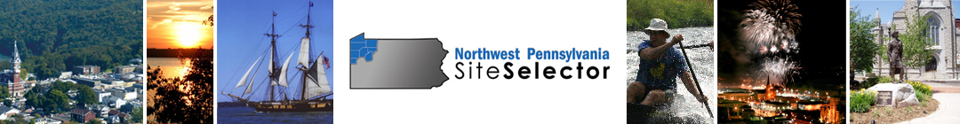 Northwest Pennsylvania Site Selector