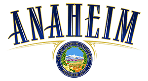 Logo for City of Anaheim