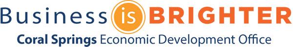 Logo for Coral Springs Economic Development