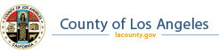 Logo for County of Los Angeles