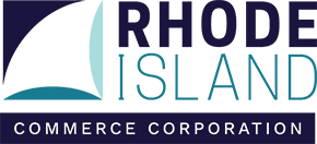 Logo for Rhode Island Commerce